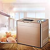 ykw Automatische Brotbackmaschine Haushalt Edelstahl Automatische Brotbackmaschine Nüsse Kaffeeröster Joghurt Fermentation