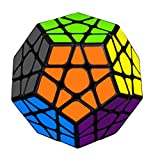 KidsPark Megaminx Zauberwürfel, Speed Würfel Puzzlespielzeug für Kinder & Erwachsene, Schwarz