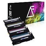 4 Toner kompatibel für Samsung CLP-360 N ND Series 365 W CLX-3300 3305 FN FW W Series Xpress C410 C460 FW W Series - CLT-K406S C406S M406S Y406S - Schwarz 1.500 Seiten, Color je 1.000 Seiten