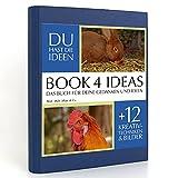 BOOK 4 IDEAS classic | Muh, Mäh, Miau & Co, Eintragbuch mit Bildern