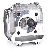 Zylinderkopf mit Ventil für GY6 150cc chinesische Roller Moped Teile 157QMJ für Motor mit AGR