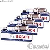 Zuendkerze Einheit 4 Stueck Original Teilenummer OE Nr 0242229654 7404, +9 Service2mm