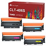 Toner Kingdom Ersatz Kompatibel für Samsung 406S CLT-406S CLT-P406C CLT-K406S Toner für Samsung Xpress SL C410W C460FW C460W C463W CLP-360 360N CLP-365 365W CLX-3300 CLX-3305 CLX-3305W CLX-3305FW