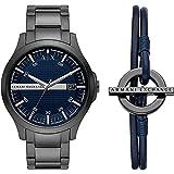 Armani Exchange Mens Analog Quartz Uhr mit Stainless Steel Armband AX7127