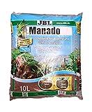 JBL Manado, Natürlicher Bodengrund mit Nährstoffspeicher, Reich an Eisen, 10