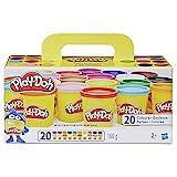 Play-Doh Super Farbenset (20er Pack), Knete für fantasievolles und kreatives Sp