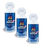 ILODA 3X 500ml Dr. Wack A1 Speed Shampoo, Autoshampoo Konzentrat, Autowaschmittel mit Aktivschaum biologisch abbaubar, löst schonend auch Insektenreste und Bienenkot