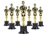 BlueFind Oscar Gold Award Trophäen, 15,2 cm, 12 Stück