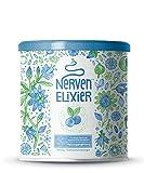 Nerven-Elixier | Pflanzliche Wirkstoffe für den Abend | Fruchtige Mischung aus Aminosäuren und Pflanzenextrakten | 400 Gramm