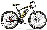 E-Bike Mountainbike Electric Snow Bike, 26,5 Zoll Elektrische Fahrrad 250W Mountainbike 36V wasserdicht und staubdichter Lithium-Ionen-Batterie für den Außenradfahren Travel-Travel-Trainer mit Lithium