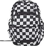 Urban Classics Backpack Checker Rucksack, 43 cm, 18, 4 L, Black/White