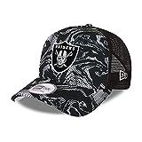 New Era Las Vegas Raiders NFL Cap Trucker Kappe verstellbar Basecap Snapback American Football Camouflage schwarz - One-Size