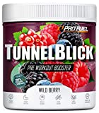 Pre-Workout-Booster Trainingsbooster 360g - Wild Berry - TUNNELBLICK Booster mit Citrullin, Taurin, Koffein & Guarana - optimal hochdosiert - Made in Germany