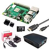 InnoConnect Raspberry Pi 4 (8GB RAM) Bundle 32GB (schwarz)