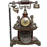 ADSE Kabelgebundenes Telefon - Senior Telefon - Hörgeschädigtes Telefon Retro Neuheit Telefon - BStyle Button