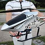 Darenbp Boy Toy Flugzeuge for Kinder Drone Riesen Große Outdoor-85CM RC Hubschrauber mit Gyro LED-Licht Funkfernsteuerung 3.5 Kanäle Hubschrauber Anfänger Urlaub Geschenke Einfach zu bedienen