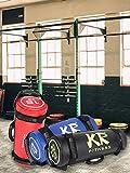 KiGoing Power Bag aus Kunstleder,5-30KG Kunstleder Workout Fitness Bag Sandbag für Functional Training, Fitness-, Kraft-, Ausdauertraining