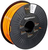 Amazon Basics 3D-Drucker-Filament aus PLA-Kunststoff, 1,75 mm, Orange, 1-kg-Spule