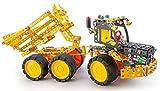 A ALEXANDER 2325 Constructor PRO Muck Kipplaster LKW 7 in 1 Metall Bausatz Set, 733 Teile Metallbaukasten, Metallbausatz mit Baufahrzeugen und Werkzeug, Konstruktionsspielzeug für Kinder ab 8 Jahre