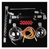 SMBYQ Labor-Glaswaren-Ausrüstung - 1000mllab ätherisches Öldestillationsgerät, Glasw