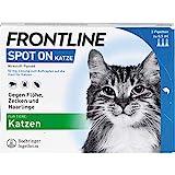 Frontline Spot on Katze Pipette, 3 St. Ampullen