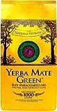 Mate Green Yerba Rosa Verde| Brasilianischer Mate-Tee | Starker Geschmack und reine Kräuterkraft | Jasmin, Rosenblüten, Zistrose, Klee. Natürliches Aroma, 1 kg