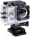 Langguth 4K WiFi Action Kamera Ultra HD 16MP 30m Unterwasser-wasserdichte Sport-Cam 170° Weitwinkel Unterwasser-C