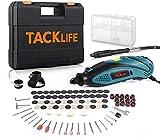 Tacklife RTD35ACL Advanced Multifunktionswerkzeug mit 80 Zubehör und 4 Aufsätze zum beliebten Allrounder für Hand- und Heimwerker, Inkl. Schutzhaube, blau