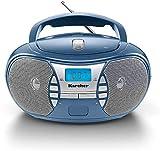 Karcher RR 5025-C tragbares CD Radio (CD-Player, Boomboxen, UKW Radio, Batterie/Netzbetrieb, AUX-In) b