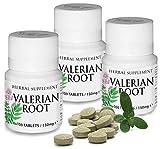 Baldrian Tabletten Pflanzliches Arzneimittel mit dosiertem Baldrianwurzel-Trockenextrakt, Beruhigung, Nerven, Anspannung, Entspannung, Bewährte Dragees bei nervös bedingten Schlafstörungen, 300 St.