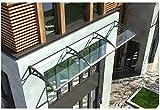 ZWJ-Vordach für Haustür Überdachung Lw Vordächer Türüberdachung Markise, Außentürüberdachung Markise, Tür Eintrag Markise Türüberdachung Terrassendach - Mehrere Größe (Size : 60×240cm)