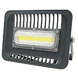 Flutlicht Halogenstrahler 30W 50W 100W Flutlicht der im Freienbeleuchtung IP65 LED für quadratische Garten-Garagen-Schiffs-Form (Emitting Color : 50W 230V)