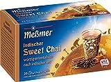 Meßmer Ländertee | Indischer Chai Tee | 20 Teebeutel | Glutenfrei | Laktosefrei | Vegan