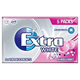 Wrigley's Extra White Bubblemint 5 Stück pro Packung