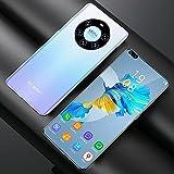 RUBAPOSM Kein Vertrags-Android-Smartphone, Handy mit Dual-SIM-3G-netz, 2+5MP HD-Kamera, 2+16GB Speicher (Erweiterbar), 4 Core, Face Unlock,Gradient Blue