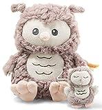 Ollie Eule Spieluhr - 21 cm - Kuscheltier für Babys - Soft Cuddly Friends - weich & nicht waschbar - rosebraun (241840)