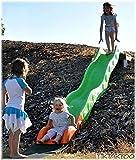 HUIJK Hangrutsche Rutsche Wellenrutsche 3,80 m Kinderrutsche Rutschbahn mit Welle