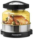 NuWave Oven Pro Plus   Leitung, Konvektion & Infrarot Herd, gesündere Mahlzeiten und flexibles Kochen, Air Fry, Backen, Broil, BBQ, Grill, Dampf, Braten und Dehydrate