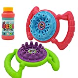 100ML Automatische Seifenblasenmaschine Lustige Elektrische Blasenmaschine Seifenblasen Pistole 500+ Bubbles Bubble Machine, Spaß Geformt Schaummaschine Für Baby Und Kleinkinder (Keine Batterien)