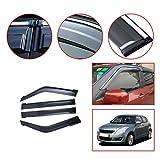 Auto Autofenster Regenschutz Rauchauto Fenster Visiere Sun Rain Guard Wind Deflectors Zubehör 4pc Für Suzuki Swift 2005-2018 Fenster Sonne Regenschutz