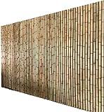 Zaun Sichtschutz Windschutz Bambus Screen Plant Climbing Winddichte Anti-UV-Rasengrenze Geeignet für Balkon und Pool Gartenzaun GCSQF210410