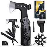 WayinTop Werkzeug Geschenke für Männer, Taschenwerkzeug Multi-Tool Hammer Axt mit Zange Klappmesser Schraubendrehe, Flaschenöffner, Multifunktionswerkzeug für Camping Notfall und Überleben im Freien