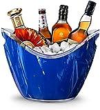 8L Eiseimer Champagner Eimer,Eis Eimer,Weinkühler Sektkühler,Acryl Große Eiskübel, Küchenobst Und Gemüse Vorratsbehälter Behälter