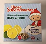 Teabreak Sandmännchen Tee Milde Zitrone (18 Pyramidenbeutel) 39,6g
