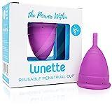 Lunette Menstruationstasse - Lila - Model 2 für normale oder starke Blutung – (EN Version)