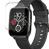 Vaxson 3 Stück Schutzfolie, kompatibel mit Mgaolo Y89 1.3' Smart Watch, Displayschutzfolie TPU Folie [nicht Panzerglas Hülle Case ]