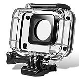 Senhai Unterwassergehäuse für Yi-Action-Kamera 2, Ersatz Schutz Tauchen Gehäuse Case 45m mit Halterung für Xiaomi Yi Yi 4K 2 Xiaoyi II