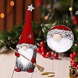 RMBLYfeiye Weihnachten Deko Wichtel Schwedischen Weihnachtsmann Santa Tomte Gnom, Skandinavischer Zwerg Geschenke für Kinder Familie Weihnachten Freunde