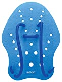 Seac Unisex– Erwachsene Hand Paddle Paddel für das Schwimmtraining im Pool und im Freiwasser, Blau, L