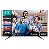 Hisense 50E76GQ QLED 127cm (50Zoll) Fernseher (4K QLED, Smart TV, Triple Tuner, HDR 10, HDR 10+ decoding, Dolby Vision & Atmos, USB-Recording, Bluetooth, Alexa Built-In, Google Assistant)
